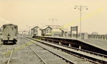 Waddon Marsh Railway Station Photo. Croydon - Beddington Lane. Mitcham Line. (6).
