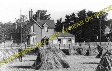 Waddon Railway Station Photo. Carshalton -Croydon. LB&SCR. (1)