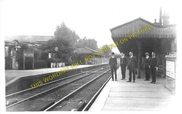 Wallington Railway Station Photo. Carshalton Beeches - Bandon. Sutton Line. (2)