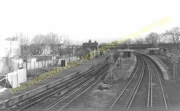 Wandsworth Common Railway Station Photo. Clapham Junction - Balham. LB&SCR. (6)