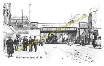 Wandsworth Road Railway Station Photo. Victoria - Clapham. Brixton Line. (2)..