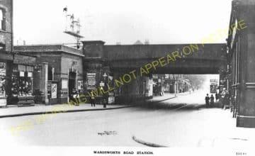 Wandsworth Road Railway Station Photo. Victoria - Clapham. Brixton Line. (5)