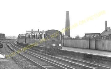 Wandsworth Town Railway Station Photo. Clapham Junction - Putney. L&SWR. (1)..