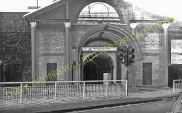 Wandsworth Town Railway Station Photo. Clapham Junction - Putney. L&SWR. (2)