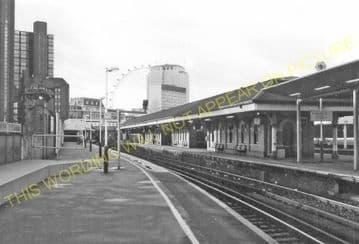 Waterloo East Railway Station Photo. London Bridge - Charing Cross. SE&CR. (4)