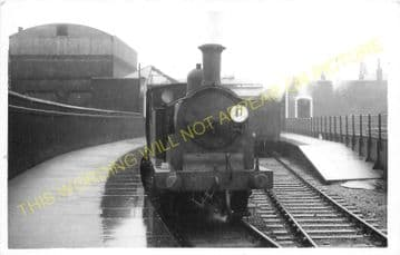 Waterloo Necropolis Railway Station Photo. London Funeral Train Station. (1)