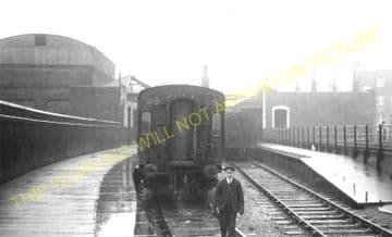 Waterloo Necropolis Railway Station Photo. London Funeral Train Station. (2).