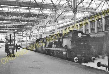 Waterloo Railway Station Photo. London & South Western Railway. (12)