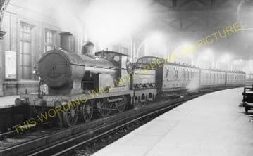 Waterloo Railway Station Photo. London & South Western Railway. (15)