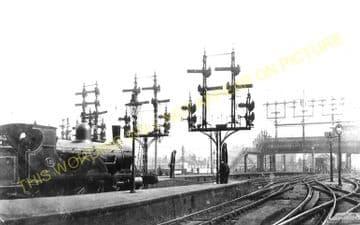 Waterloo Railway Station Photo. London & South Western Railway. (21)