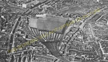 Waterloo Railway Station Photo. London & South Western Railway. (22)