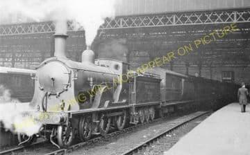 Waterloo Railway Station Photo. London & South Western Railway. (27)