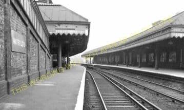 Waterloo Railway Station Photo. London & South Western Railway. (32)