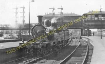 Waterloo Railway Station Photo. London & South Western Railway. (36)