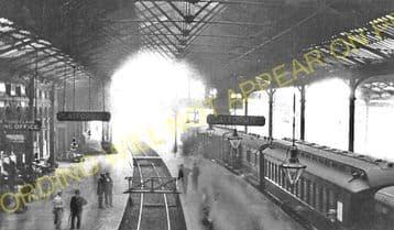 Waterloo Railway Station Photo. London & South Western Railway. (5)
