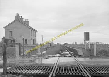 Watten Railway Station Photo. Bilbster - Bower. Wick to Georgemas. Highland. (4)