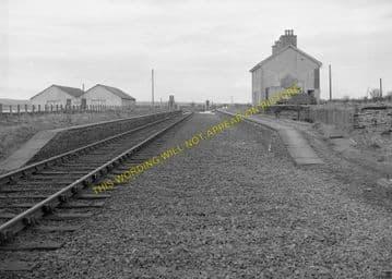 Watten Railway Station Photo. Bilbster - Bower. Wick to Georgemas. Highland. (7)