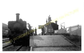 West Bay Railway Station Photo. Bridport, Powerstock and Maiden Newton Line. (11)