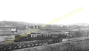 West Bay Railway Station Photo. Bridport, Powerstock and Maiden Newton Line. (12)