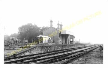 West Bay Railway Station Photo. Bridport, Powerstock and Maiden Newton Line. (18)