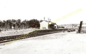 West Bay Railway Station Photo. Bridport, Powerstock and Maiden Newton Line. (2)