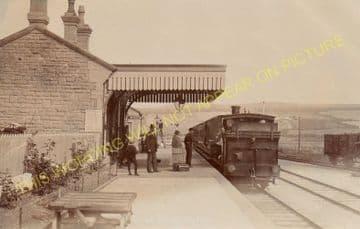 West Bay Railway Station Photo. Bridport, Powerstock and Maiden Newton Line. (20)