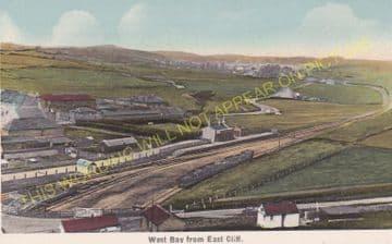 West Bay Railway Station Photo. Bridport, Powerstock and Maiden Newton Line. (21)