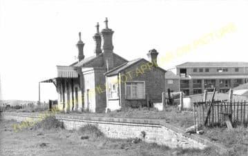 West Bay Railway Station Photo. Bridport, Powerstock and Maiden Newton Line. (22)