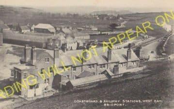 West Bay Railway Station Photo. Bridport, Powerstock and Maiden Newton Line. (24)