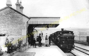 West Bay Railway Station Photo. Bridport, Powerstock and Maiden Newton Line. (5)