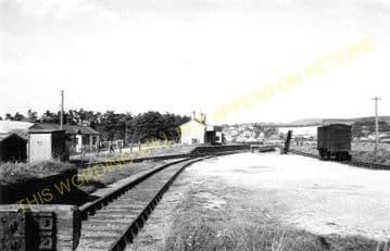 West Bay Railway Station Photo. Bridport, Powerstock and Maiden Newton Line. (6)