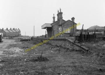 West Bay Railway Station Photo. Bridport, Powerstock and Maiden Newton Line. (8)