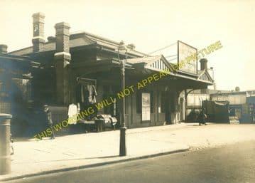 West Brompton Railway Station Photo. Kensington - Chelsea & Fulham. (2)