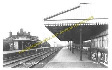 West Byfleet Railway Station Photo. Weybridge - Woking. L&SWR. (1)