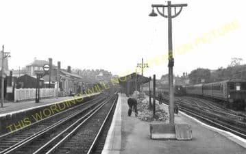 West Croydon Railway Station Photo. Norwood Junction - Sutton. LB&SCR. (10)