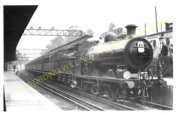 West Croydon Railway Station Photo. Norwood Junction - Sutton. LB&SCR. (3)