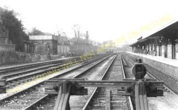West Croydon Railway Station Photo. Norwood Junction - Sutton. LB&SCR. (4)