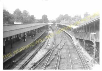 West Croydon Railway Station Photo. Norwood Junction - Sutton. LB&SCR. (5)