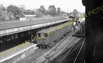West Croydon Railway Station Photo. Norwood Junction - Sutton. LB&SCR. (6)