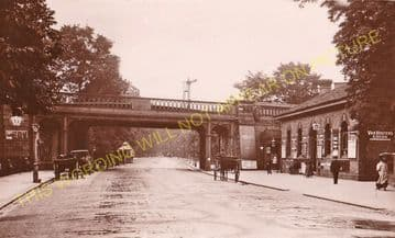 West Dulwich Railway Station Photo. Herne Hill - Sydenham Hill. (4)