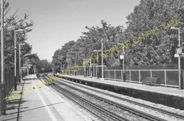 West Dulwich Railway Station Photo. Herne Hill - Sydenham Hill. (5)