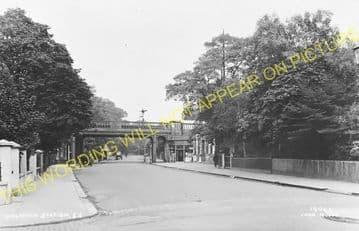 West Dulwich Railway Station Photo. Herne Hill - Sydenham Hill. (6)