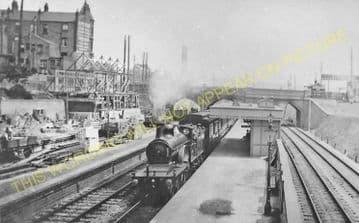 West Hampstead Railway Station Photo. Kilburn Road - Finchley Road. (2)
