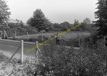 West Moors Railway Station Photo. Wimborne to Verwood and Ringwood Lines. (10)