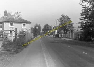 West Moors Railway Station Photo. Wimborne to Verwood and Ringwood Lines. (3)