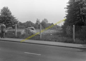 West Moors Railway Station Photo. Wimborne to Verwood and Ringwood Lines. (9)