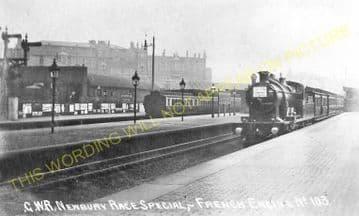Westbourne Park Railway Station Photo. Paddington - Acton. Great Western. (4)