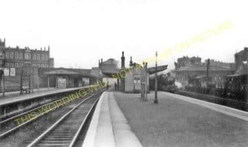 Westbourne Park Railway Station Photo. Paddington - Acton. Great Western. (5)