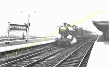 Westbourne Park Railway Station Photo. Paddington - Acton. Great Western. (6)