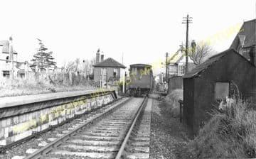 Westham Railway Station Photo. Melcombe Regis - Rodwell. Portland Line. (1)